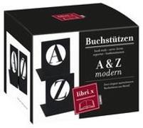Cover-Bild zu libri_x Buchstützen A & Z modern