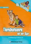 Cover-Bild zu Die Textspione - Tierabenteuern auf der Spur, Leseheft von Stehr, Sabine