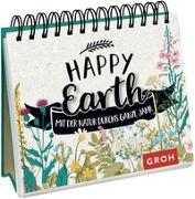 Cover-Bild zu Happy Earth - mit der Natur durchs ganze Jahr von Groh Redaktionsteam (Hrsg.)
