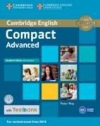Cover-Bild zu Compact Advanced Student's Book with Answers with CD-ROM with Testbank von May, Peter