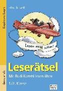 Cover-Bild zu Leserätsel 1./2. Klasse von Bartl, Almuth