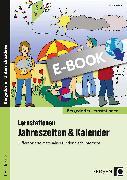 Cover-Bild zu eBook Lernstationen Jahreszeiten & Kalender