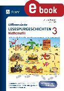 Cover-Bild zu eBook Differenzierte Lesespurgeschichten Mathematik 3
