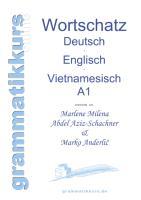 Cover-Bild zu Wörterbuch Deutsch - Englisch -Vietnamesisch A1 von Abdel Aziz - Schachner, Marlene