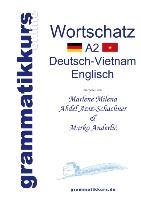 Cover-Bild zu Wörterbuch Deutsch-Vietnamesisch-Englisch Niveau A2 von Abdel Aziz-Schachner, Marlene Milena