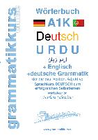 Cover-Bild zu Wörterbuch A1K Deutsch - Urdu - Englisch von Abdel Aziz - Schachner, Marlene Milena