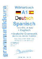 Cover-Bild zu Wörterbuch Deutsch - Spanisch - Englisch A1 von Schachner, Marlene