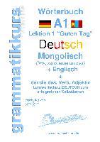 Cover-Bild zu Wörterbuch Deutsch - Mongolisch - Englisch von Akom, Edouard