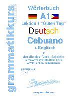 Cover-Bild zu Wörterbuch Deutsch - Cebuano - Englisch Niveau A1 von Akom, Edouard