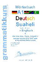 Cover-Bild zu Wörterbuch Deutsch - Suaheli Kiswahili - Englisch von Schachner, Marlene