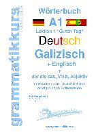 Cover-Bild zu Wörterbuch Deutsch - Galizisch - Englisch Niveau A1 von Schachner, Marlene