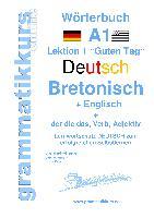 Cover-Bild zu Wörterbuch Deutsch - Bretonsich - Englisch Niveau A1 von Schachner, Marlene
