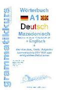 Cover-Bild zu Wörterbuch Deutsch - Mazedonisch - Englisch von Schachner, Marlene