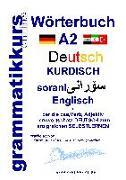 Cover-Bild zu Wörterbuch Deutsch - Kurdisch - Sorani - Englisch A2 von Schachner, Marlene