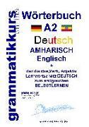 Cover-Bild zu Wörterbuch Deutsch - Amharisch - Englisch A2 von Schachner, Marlene