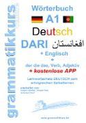 Cover-Bild zu Wörterbuch Deutsch - Dari - Englisch von Schachner, Marlene