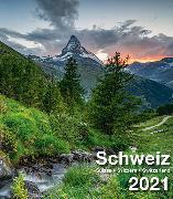 Cover-Bild zu Cal. Schweiz 2021 Ft. 21x24