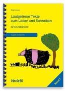 Cover-Bild zu Lautgetreue Texte zum Lesen und Schreiben. Band 1. Für Grundschüler. Druckschrift von Jansen, Birgit