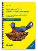 Cover-Bild zu Lautgetreue Texte zum Lesen und Schreiben. Band 2. Für lese- und rechtschreibschwache Grundschüler. Druckschrift von Jansen, Birgit