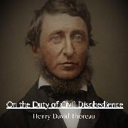 Cover-Bild zu eBook On the Duty of Civil Disobedience