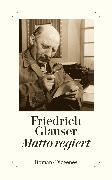 Cover-Bild zu Glauser, Friedrich: Matto regiert