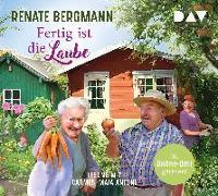 Cover-Bild zu Fertig ist die Laube. Die Online-Omi gärtnert von Bergmann, Renate