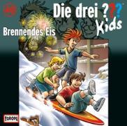 Cover-Bild zu Brennendes Eis von Blanck, Ulf