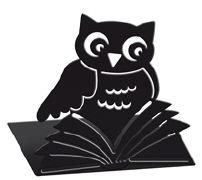 Cover-Bild zu Buchstützen Büchereule
