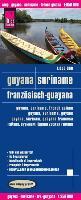 Cover-Bild zu Reise Know-How Landkarte Guyana, Suriname, Französisch-Guayana (1:850.000). 1:850'000