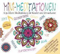 Cover-Bild zu Mini Meditationen (Doppel-CD) - Geführte Meditationen für zwischendurch und zum Einschlafen. Für Kinder und Erwachsene von Heuer-Diakow, Sabrina