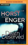 Cover-Bild zu Enger, Thomas: Death Deserved
