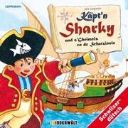 Cover-Bild zu Käpt'n Sharky und s'Gheimnis vo de Schatzinsle von Langreuter, Jutta