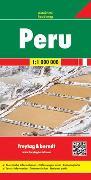 Cover-Bild zu Peru, Autokarte 1:1 Mio. 1:1'000'000 von Freytag-Berndt und Artaria KG (Hrsg.)