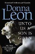 Cover-Bild zu Unto Us a Son Is Given von Leon, Donna