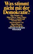 Cover-Bild zu Was stimmt nicht mit der Demokratie? von Dörre, Klaus