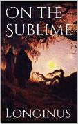 Cover-Bild zu eBook On the Sublime