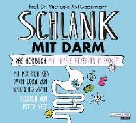 Cover-Bild zu Schlank mit Darm von Axt-Gadermann, Michaela