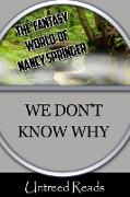 Cover-Bild zu Springer, Nancy: We Don't Know Why (eBook)