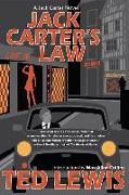 Cover-Bild zu Lewis, Ted: Jack Carter's Law