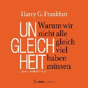 Cover-Bild zu Frankfurt, Harry G.: Ungleichheit (Audio Download)
