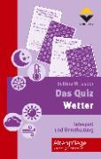 Cover-Bild zu Das Quiz - Wetter von Jasper, Bettina M.