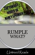 Cover-Bild zu Springer, Nancy: Rumple What? (eBook)