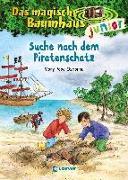 Cover-Bild zu Pope Osborne, Mary: Das magische Baumhaus junior 4 - Suche nach dem Piratenschatz