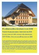 Cover-Bild zu PlusEnergieBau-Gebäudestudie 2019