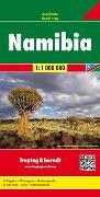 Cover-Bild zu Namibia, Autokarte 1:1 Mio. 1:1'000'000