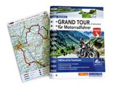 Cover-Bild zu Grand Tour of Switzerland Roadbook für Motorradfahrer von Hallwag Kümmerly+Frey AG