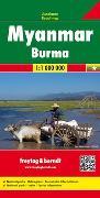 Cover-Bild zu Myanmar - Burma, Autokarte 1:1.000.000. 1:1'000'000