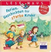 Cover-Bild zu Ladwig, Sandra: LESEMAUS Sonderbände: Ferien-Geschichten für starke Kinder