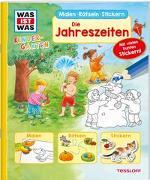 Cover-Bild zu Schuck, Sabine: WAS IST WAS Kindergarten Malen Rätseln Stickern Die Jahreszeiten