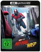 Cover-Bild zu Reed, Peyton (Reg.): Ant-Man and the Wasp - 4K+2D (2 Disc)